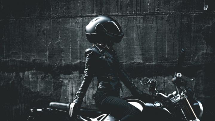 Helm ist die Hauptsache